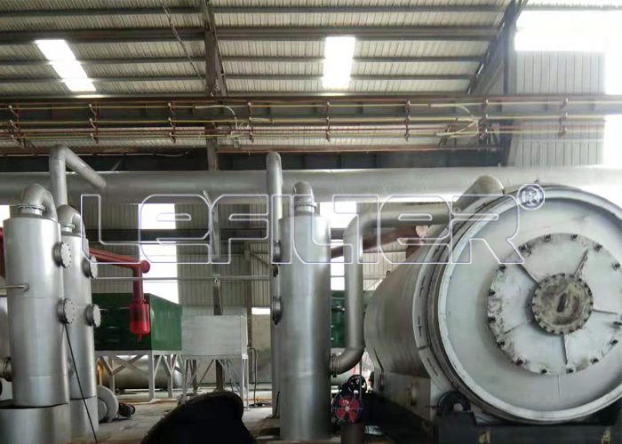 Pyrolysis equipment for tire recycling