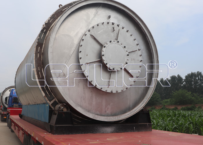 Waste Tire to Oil Pyrolysis Machinery