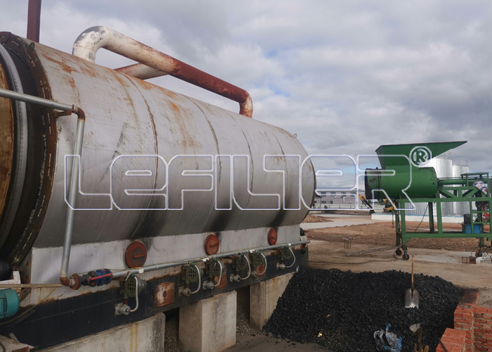 Sludge refining equipment
