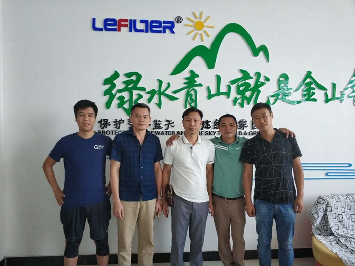 Vietnam Clients coming to visit pyrolysis