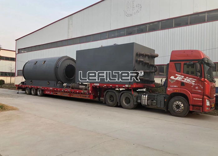 5~15TPD Capacity Waste Tire Plastic Pyrol