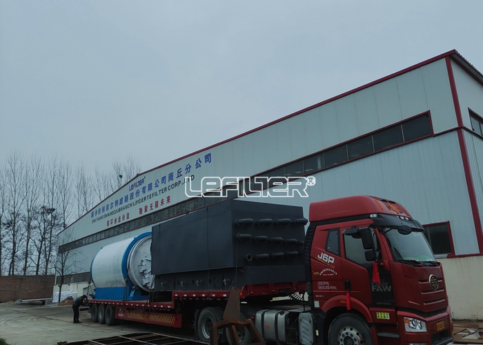 Green scrap tire pyrolysis plant with 10